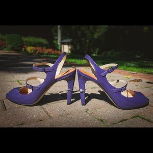 Rare Via Spiga Purple pumps